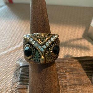 3/$10 vtg owl ring
